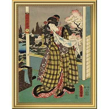 East Urban Home 'Costumes' Framed Graphic Art Print; 18'' H x 14'' W