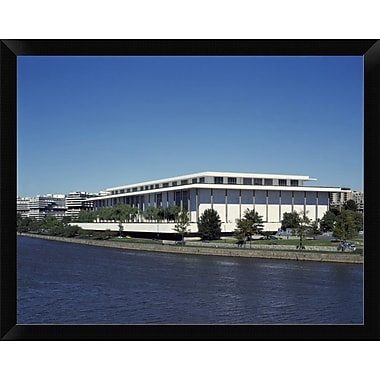 East Urban Home 'Kennedy Center for the Performing Arts Washington D.C.' Framed Photographic Print