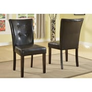 GlobalTradingUnlimited Modern Luxurious Upholstered Dining Chair (Set of 2)