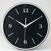 Orren Ellis 12'' Round Wood Wall Clock