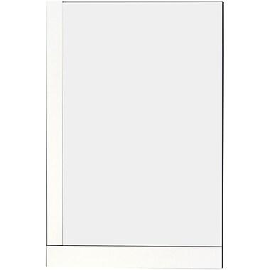 Orren Ellis Modern Plywood-Veneer Wall Mirror w/ Nylon Seal