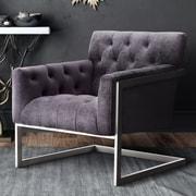 Everly Quinn Kai Velvet Club Chair