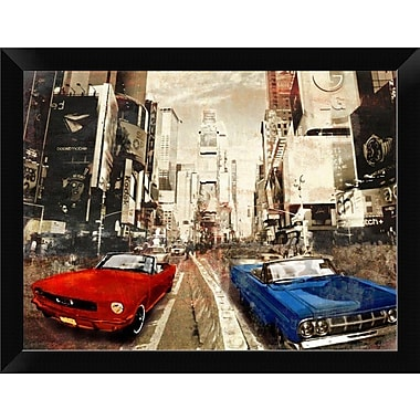 East Urban Home 'Horse Power' Framed Photographic Print; 9'' H x 12'' W