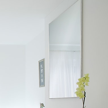 Orren Ellis Framed Rectangular Metal Wall Mirror