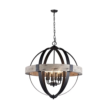 Gracie Oaks Marcella 6-Light Candle-Style Chandelier