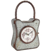 Gracie Oaks Novelty Aluminum Clock