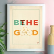 Harriet Bee 'Be the Good' Rectangle Framed Textual Art