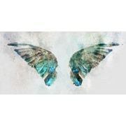 Ivy Bronx 'Butterfly' by Acrylic Painting Print on Wrapped Canvas