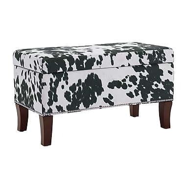 Williston Forge Adelynn Udder Madness Domino Ottoman