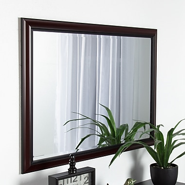 Darby Home Co Framed Beveled Wall Mirror; 40'' H x 28'' W x 1'' D