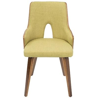 Corrigan Studio Buckhurst Upholstered Dining Chair (Set of 2); Green