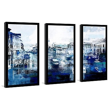 East Urban Home 'Venice, Italy I' Framed Graphic Art Print Multi-Piece Image on Glass
