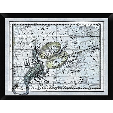 East Urban Home Wall Art-Maps of the Heavens: Libra - the Scales & The Scorpion