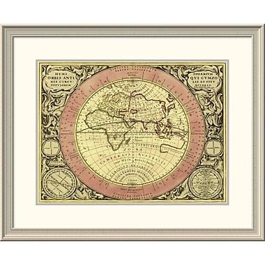 East Urban Home 'Maps of the Heavens: Hemisphaerium Orbis Antiqui' Framed Print