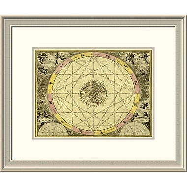 East Urban Home 'Maps of the Heavens: Typhus Aspec' Framed Print; 20'' H x 24'' W x 1.5'' D