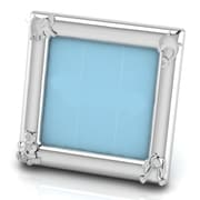 Harriet Bee Sterling Silver Animal Square Picture Frame; Blue