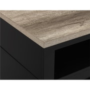 """Ameriwood Carver Electric Fireplace TV Stand for TVs up to 60"""" Wide"""