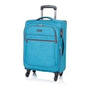 "Rosetti Island Paradise 28"" Expandable Spinner Luggage, Blue (RS5028)"