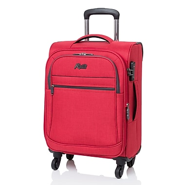 Rosetti - Valise Island Paradise expansible à roues multidirectionnelles, 19 po, rouge (RS5019)