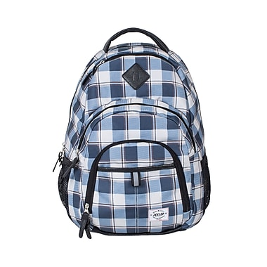 KGB Sport Backpack, Blue Plaid (BPK5754)