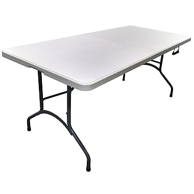 PDG Bifold Blow-Molded Table, 6 ft (806)