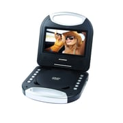 "Sylvania 7"" Portable DVD Player with Integrated Handle (SDVD7049-BLACK)"
