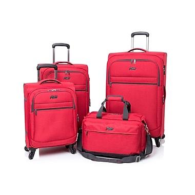 Rosetti Island Paradise 4-Piece Luggage Set, Red (RS5004)