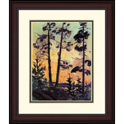 "Northland Art Pines At Sunset by Tom Thomson, 38"" x 34"" (S-NCTT021M)"