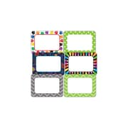 Teacher Created Resources Nametag Set, Variety of Designs, 216 Stickers