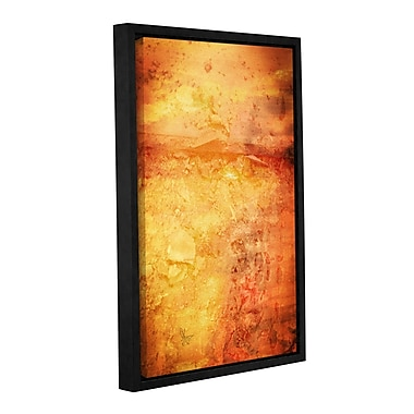 Williston Forge 'Jovian' Framed Graphic Art on Wrapped Canvas; 18'' H x 12'' W x 2'' D