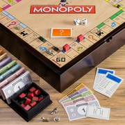 WS Game Company Monopoly 5-in-1 Deluxe Edition