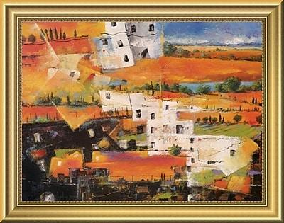 East Urban Home 'Dalla Citta alla Campagna' Framed Oil Painting Print; 11'' H x 14'' W