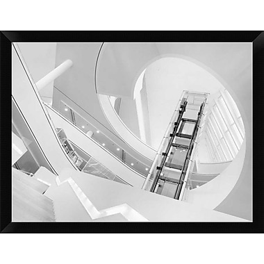 East Urban Home 'Journey to the Light' Framed Graphic Art Print; 12'' H x 16'' W
