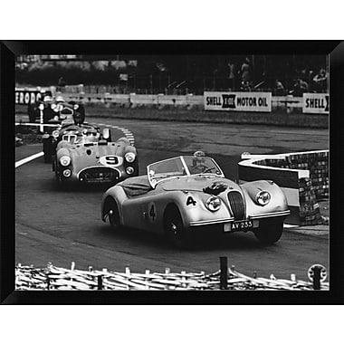 East Urban Home 'International Sports Car Race UK 1952' Framed Photographic Print; 12'' H x 16'' W