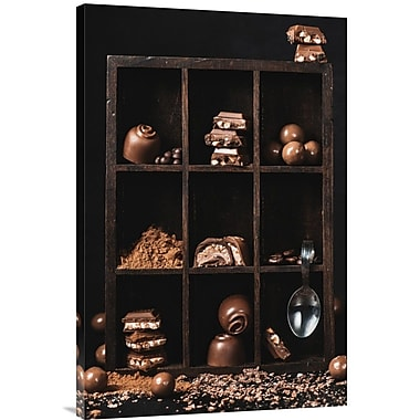 Global Gallery 'Chocolate Collection' by Dina Belenko Photographic Print on Wrapped Canvas