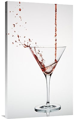 Global Gallery 'Cocktail' by Christian Pabst Photographic Print on Wrapped Canvas