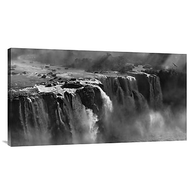 Global Gallery 'Demonstration of Power' by Zan Zhang Photographic Print on Wrapped Canvas