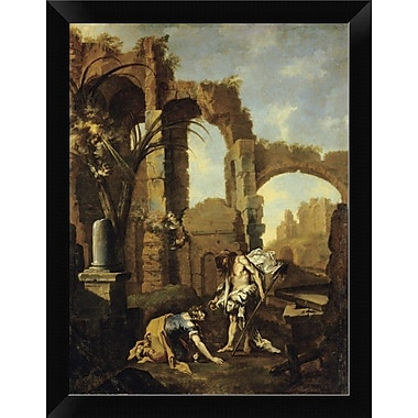 East Urban Home 'Noli Me Tangere' Framed Oil Painting Print; 12'' H x 9'' W