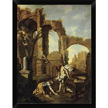 East Urban Home 'Noli Me Tangere' Framed Oil Painting Print; 16'' H x 12'' W