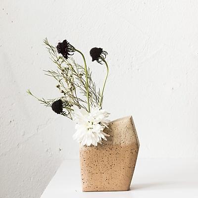 Boyce Studio Ikebana Vessel Wood Table Vase