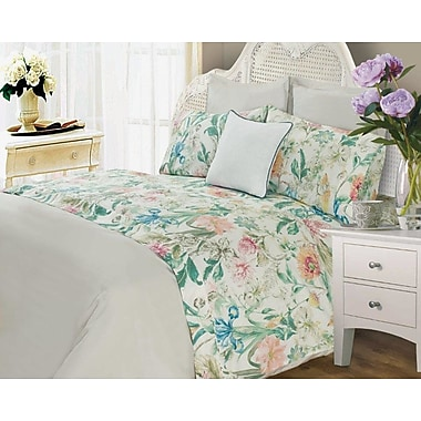August Grove Laureole 400 Thread Count 100pct Cotton Sheet Set; Queen