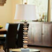 Everly Quinn Zola 31'' Standard Lamp; Silver