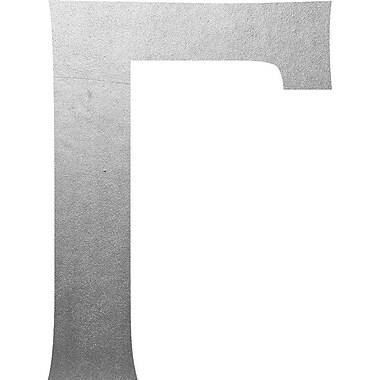 Wheatpaste Gamma Wall Decal; Silver
