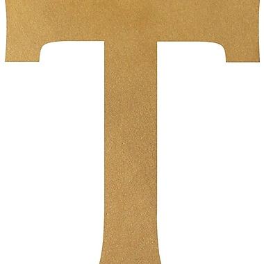 Wheatpaste Tau Wall Decal; Gold