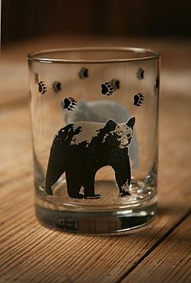 Loon Peak Fabian Cabin Lodge Double Old Fashioned Glass (Set of 4)