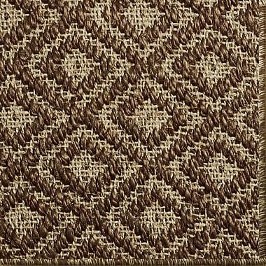 Gracie Oaks Palmyre Brown Area Rug; 6' x 9'