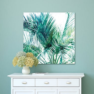 Bay Isle Home 'Tropical Breeze 3 Crop' Photographic Print on Wrapped Canvas; 24'' H x 24'' W