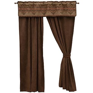 Loon Peak Raymond Semi-Sheer Rod Pocket Single Curtain Panel