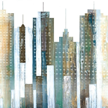 Ivy Bronx 'City Reflections I' Print on Wrapped Canvas; 35'' H x 35'' W