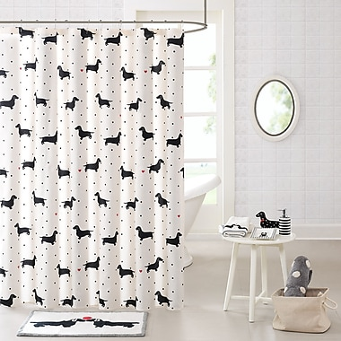 East Urban Home Cotton Printed Shower Curtain